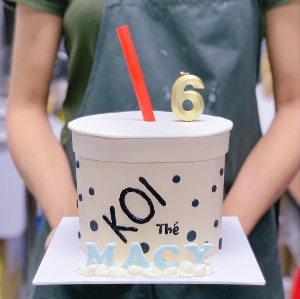 KOI Bubble Tea Cake