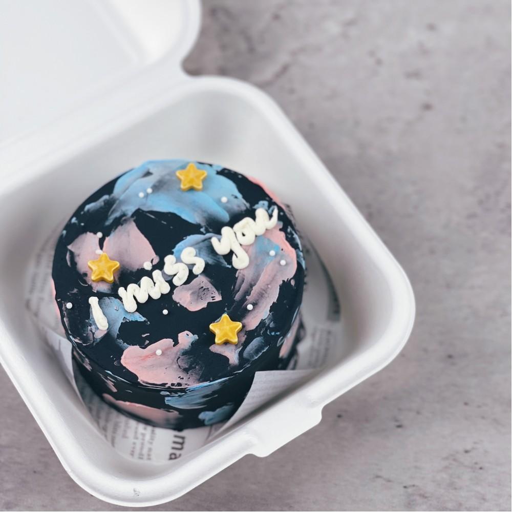 Galaxy Korean Bento Cake