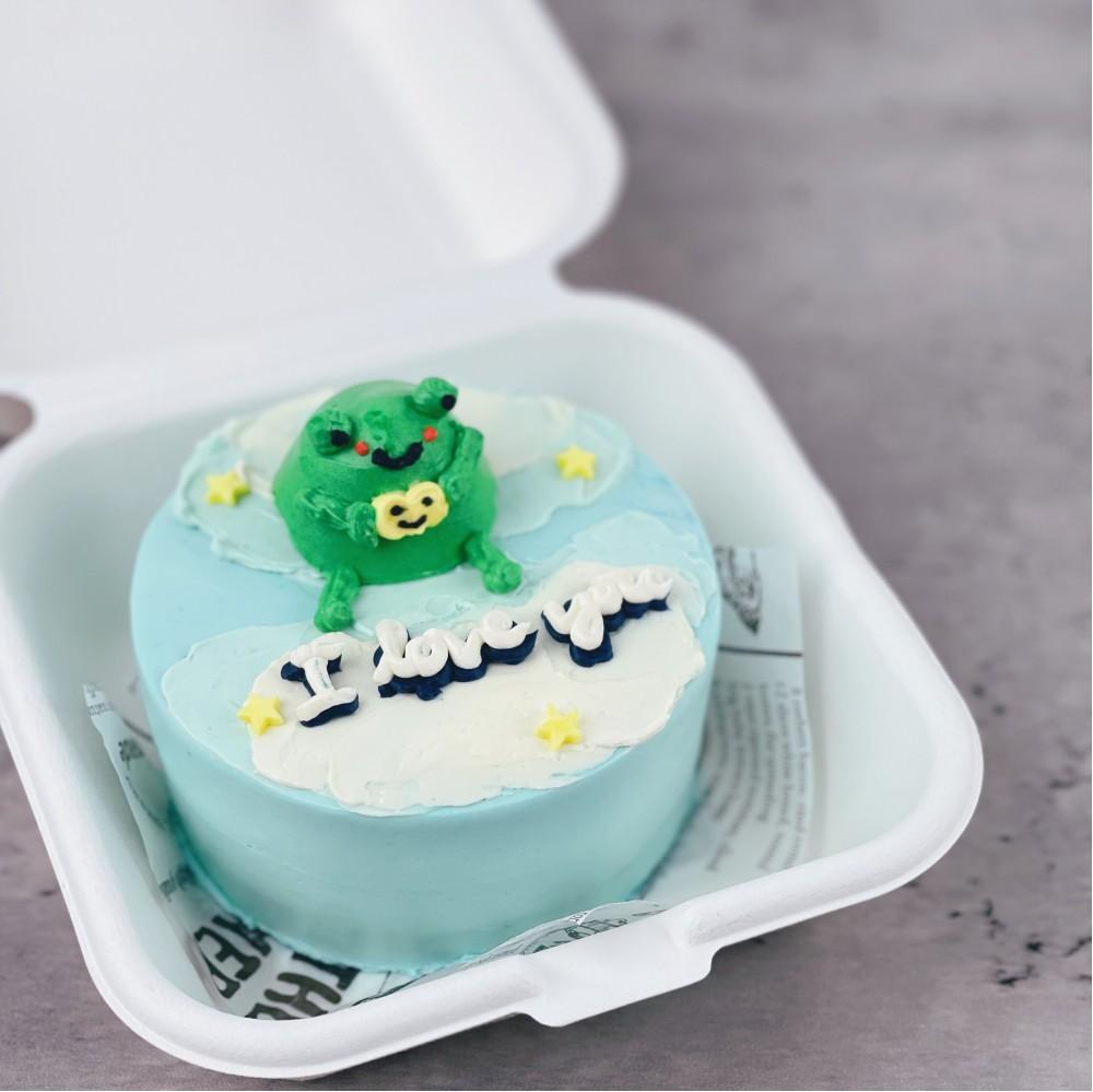 Froggy Korean Bento Cake