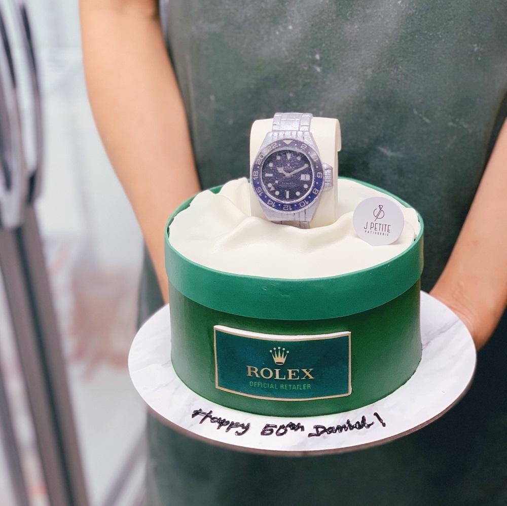 Rolex Watch Set Cake