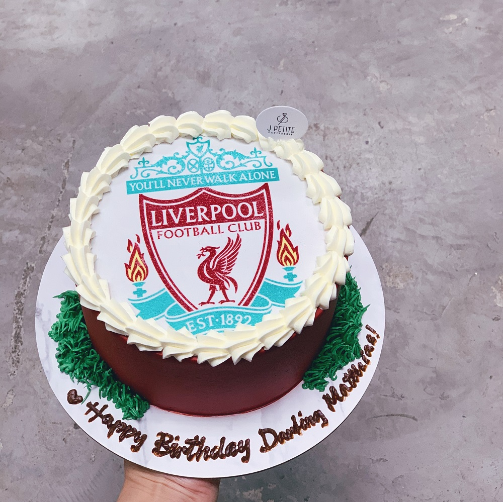 Liverpool Soccer Club Themed Cake