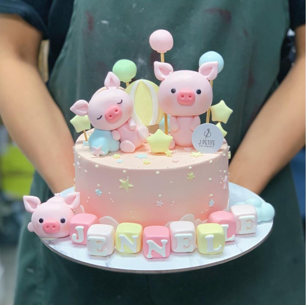 Dreamy Piglets Wonderland Cake