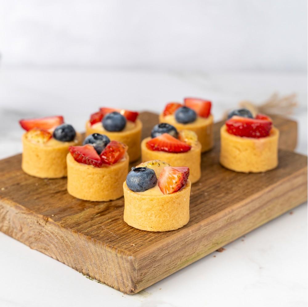 Mixed Berries Tarts - Box of 12
